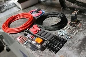 Single Air Compressor Wiring Kit For Viair Air Ride Suspension 6 Awg