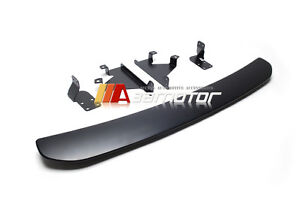 Unpainted Bumper Diffuser Sti Style Rear Lip For 15 19 Subaru Impreza Wrx Sedan