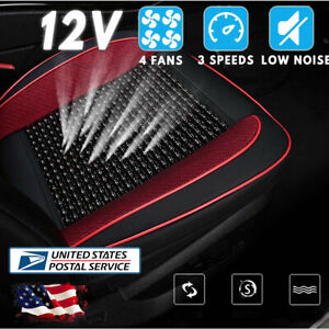 Car Seat Cushion 3 Levels Cooling Pad 12v Automotive Air Conditioned Seat Cover