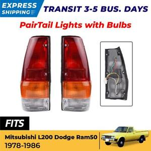 Tail Light Rear Lamp Assembly Made For 1978 1986 Mitsubishi L200 Ram 50 Plymouth