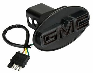 Reese Towpower 86534 Black Finish Gmc Lighted Hitch Cover
