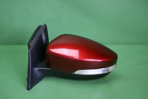 15 18 Ford Focus Side Door Mirror Power Heated Driver Left W signal Ruby Red Oem