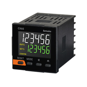 New Lcd Display Digital Timer Counter Cx6s 2p4 2 Stage Preset 6 Digit W48 X H48