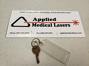 Cynosure Hoya Conbio Medlite Ii Spare Key For Medlite 2 Used Laser Key