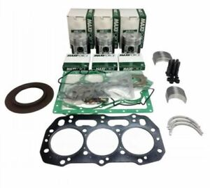 New Holland Tc30 Tc33 Tc33d Compact Tractor Engine Overhaul Rebuild Kit