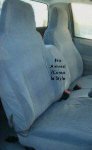 Chevy Colorado 2004 2012 Seat Covers 60 40 No Armrest Console Style Black