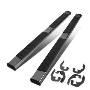 Fit 07 19 Silverado Sierra Extended Cab 5 Stainless Step Bar Running Boards