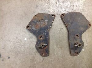 1939 To 1953 Ford Mercury Flathead V8 Water Pump Block Off Plates Drag Race