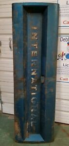 Rare Original Vintage International Harvester Pickup Truck Tailgate Bench