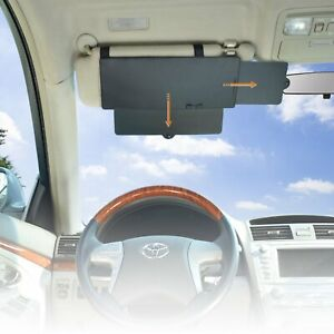 Wanpool Car Visor Anti glare Sunshade Extender For Front Seat Driver Or 1