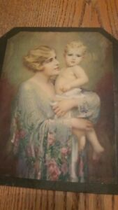 Vintage Picture Of Women And Child