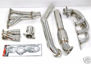 Obx Long Tube Header For 1997 2003 Pontiac Grand Prix Gtp 3 8l Super Charged
