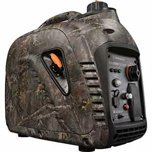 Westinghouse Quiet 2 200 watt Camouflage Portable Gas Powered Inverter Generator