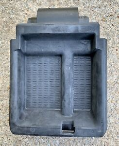 00 05 Bmw E46 330 325 Black Center Console Armrest Storage Tray Oem 3