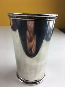 Tiffany Co Sterling Silver Julep Cup Goblet Trophy No Monogrammed
