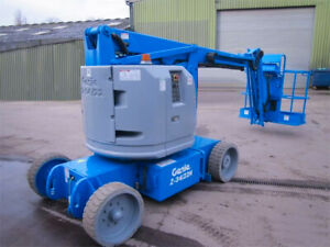 Genie Z34 22n Manlift Articulating Boom Lift Electric Jlg E450 Low Hours