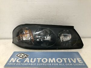 2000 2001 2002 2003 2004 Chevrolet Impala Headlight Right Black Halogen Oem E2