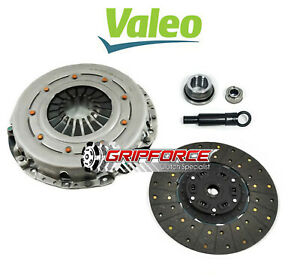 Valeo fx Stage 1 Hd Clutch Kit For 86 01 Ford Mustang T5 Tremec Tko 26 Spline