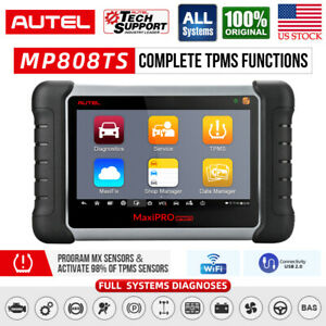 Autel Mp808ts Auto Diagnostic Scan Tool All System Scanner Advanced Tpms Service