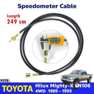 Speedometer Cable Speed Meter For Toyota Hilux 5th Gen Ln106 4wd Pickup 1989 95