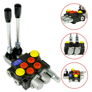 3 Spool Hydraulic Directional Control Valve 13gpm 3600psi Monoblock Structure
