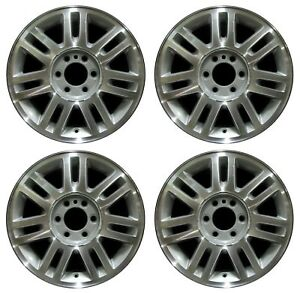 18 Ford F150 09 10 11 12 13 14 Factory Oem Rim Wheel 3784 Silver Machined Set