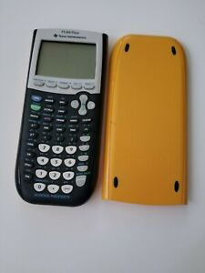Texas Instruments Ti 84 Plus Graphing Calculator With Covers School Edition
