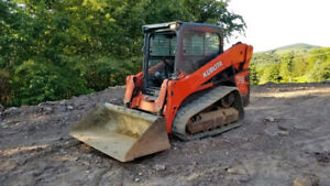 2012 Kubota Svl75 Compact Track Skid Steer Loader W Cab 2 Speed Coming Soon