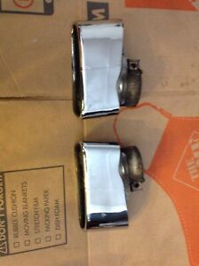 Porsche 911 997 Turbo Exhaust Tips Oem