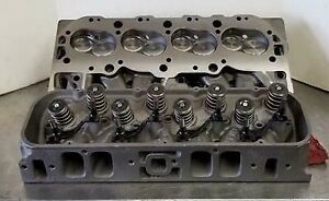 Pair Of 396 427 Big Block Chevrolet Rectangle Port Cylinder Heads