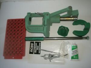 RCBS ROCK CHUCKER PRESS RELOADING WITH EXTRAS