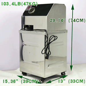 110v Commercial Vertical Electric Sugar Cane Juicer Extractor Press Machine