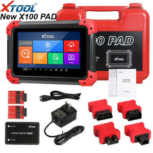 Xtool X100 Pad Car K ey Programmer With Oil Rest Tool And Odo meter Adjustment