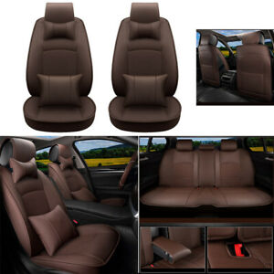 Custome Car Seat Cover Set Pu Leather Fit For Dodge Ram1500 2500 3500 2009 2019