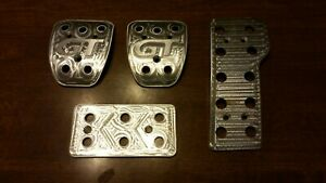 Ford Mustang Gt Aluminum Billet Pedals 4 Pc