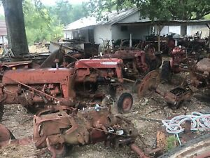 Ih Farmall Cub Tractor Parting Out International Harvester Mccormick