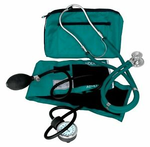 Dixie Ems Blood Pressure And Sprague Stethoscope Kit teal