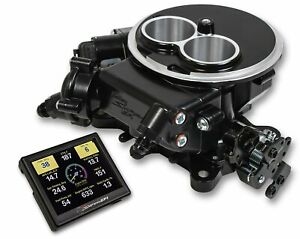 550 850 Holley Sniper Efi 2300 Self Tuning Kit Black Finish Fuel Injection Carb