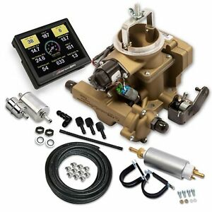 550 860k Holley Sniperefi Bbd Master Kit For Jeep Cj Classic Gold Fuel Injection