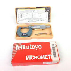 Mitutoyo 25 Mm Outside Micrometer M110 25 Made In Japan 103 137 Case