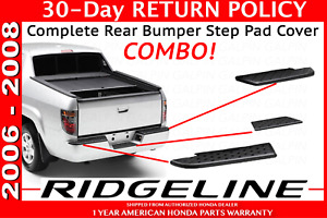 Genuine Oem Honda Ridgeline Rear Step Pad Complete Combo Kit 2006 2008