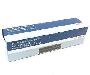 Bosch Ds161 High Performance Request To Exit Passive Infrared Detector Black