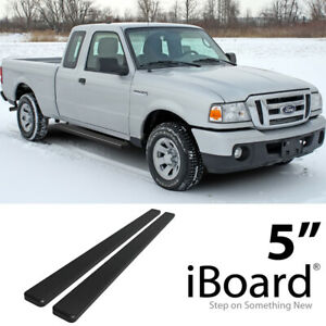 Iboard Stainless Steel 5 Running Boards Fit 99 11 Ford Ranger Super Cab 4 Door