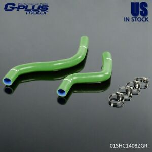 2pcs For Mitsubishi Lancer 2005 2007 Evo 9 Ct9a 4g63t Silicone Radiator Hoses