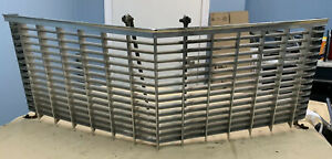 1970 Cadillac Deville Fleetwood Front Grill Grille W Inner Mount Rods Orig 70