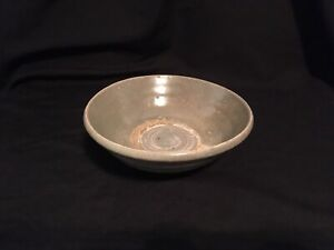 Antique Chinese Yuan Dynasty 1279 1368 Bowl W Marked Craquelure