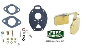 Carburetor Kit Float John Deere M Mt 40 320 330 420 430 440 1020 1520 2010