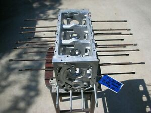 Corvair Engine Block T0316rw 65 68 Smog Pg 110 8 Case Bolts Degreased Clean