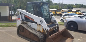 2007 Bobcat T180 Compact Track Skid Steer Loader W Cab Only 900hrs Coming Soon