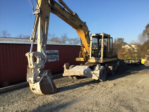 1993 Caterpillar 214bft Mobile Hydraulic Excavator W Cab Coming Soon